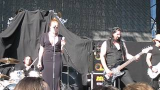IMPERIA feat.Netta Dahlberg - Out Of Sight - Magic Circle Festival, Helsinki, Finland 26.7.2014