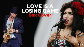 Love is a losing game - Amy Winehouse alto sax cover karaoke