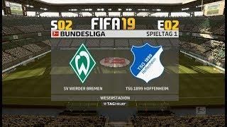 FIFA 19 S02E02: Werder Bremen gg TSG Hoffenheim