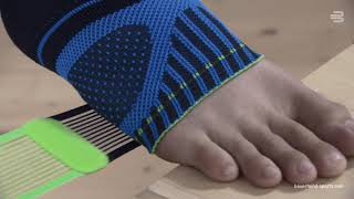 Bauerfeind Sports Ankle Support Video Anleitung Anlegen