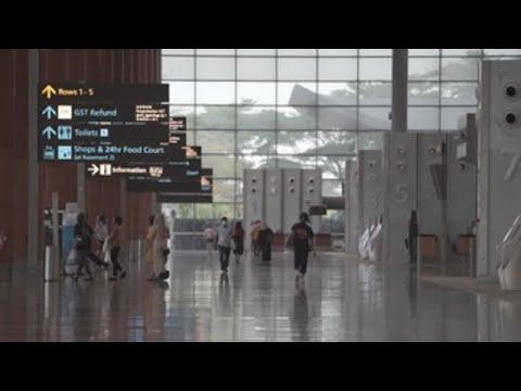 Gestores del aeropuerto de Singapur anuncian pérdidas del 36 % por COVID-19