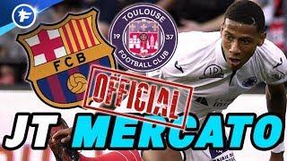 OFFICIEL : le FC Barcelone recrute le Français Jean-Clair Todibo
