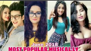 The Most Populer Musically Videos Of 2018 | Musically Compilation Video width=
