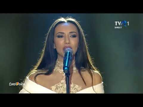 Jessie Baneş - Lightning strikes | A doua semifinală Eurovision România 2018