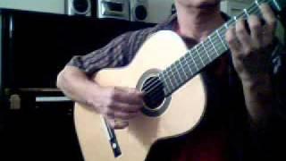 I Fall in Love Too Easily on guitar (Chet Baker