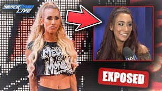 Real Reason Why Carmella Was FORCED To Change Her Hair Color - WWE Smackdown Oct. 2018