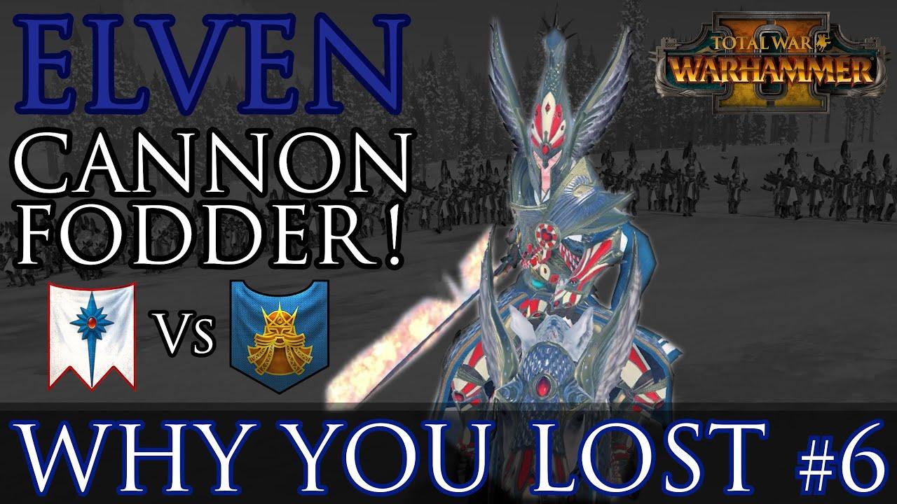 Zerkovich - Elven CANNON FODDER! - Why You Lost #6 | Warhammer 2