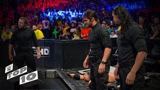 WWE Top 10 ringside invassions