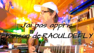 Vie fragile :   chanson de RAOUL DEFLY