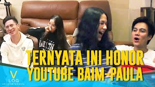 TERNYATA INI HONOR YOUTUBE BAIM-PAULA?! V-LOG Game Night BAPAU VS WILVER
