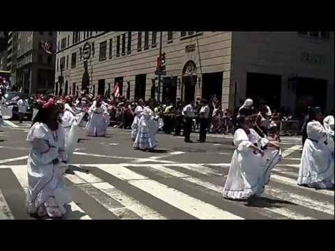 Puerto Rican Day Parade~NYC~2012~Plena Dancers~NYCParadelife