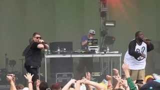 "Run The Jewels- ""Banana Clipper"" (HD) Live at Lollapalooza on 8-3-2014"