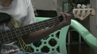 Halik- Kamikazee (Bass Cover)