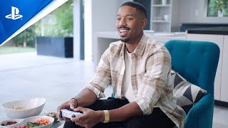 PS5 Videos Featuring Michael B. Jordan and Naomi Osaka Released, Resident Evil Village Gameplay Highlighted