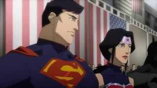 Mulher Maravilha compara superman com o que ?
