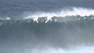 Dave Wassel at Jaws - Ride of the Year Entry in the Billabong XXL Big Wave Awards 2012