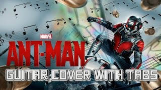 Ant-Man Theme: Guitar Lesson Tutorial | How to play Marvel Metal