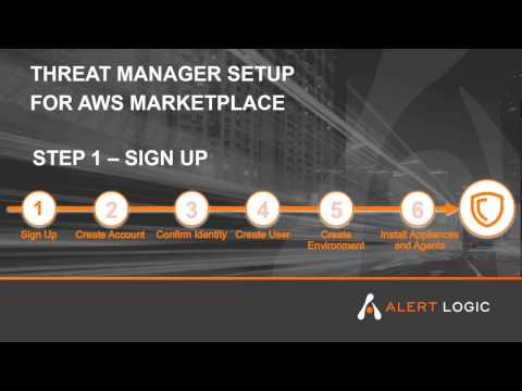 Alert Logic Threat Manager Plus ActiveWatch for AWS Marketplace - Step 1