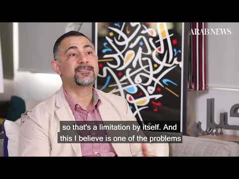 Calligraphy artist Wissam Shawkat seeks to break the mold
