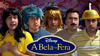 """A BELA E A FERA - """"Alguma Coisa Aconteceu"""" / """"Something There"""" (COVER BRASIL)"""