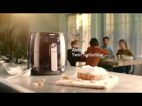 Philips Airfryer med Twin TurboStar-teknik