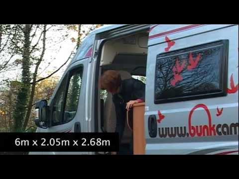 The 'Aero' – Delux 2 person Campervan Rental Ireland | Delux 2 person Campervan Hire Scotland