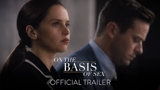 ON THE BASIS OF SEX - Official Trailer [HD] - In Theaters This Christmas width=
