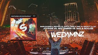 Bassjackers & Brooks vs. Migos x Lil Uzi - Joyride vs. September vs. Bad & Boujee (WeDamnz Mashup)