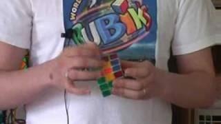 Hogyan rakjuk ki a Rubik kockát? 2. rész, második sor kirakása