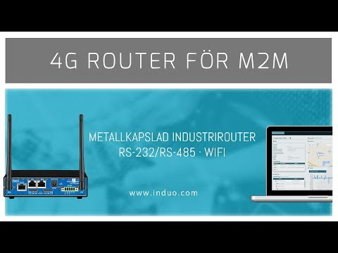 EN-2000 IR 4G M2M router med robust yttre