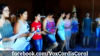 #Ensaio Rainha da Paz - Maria do Rosário (feat. Coral Vox Cordis)