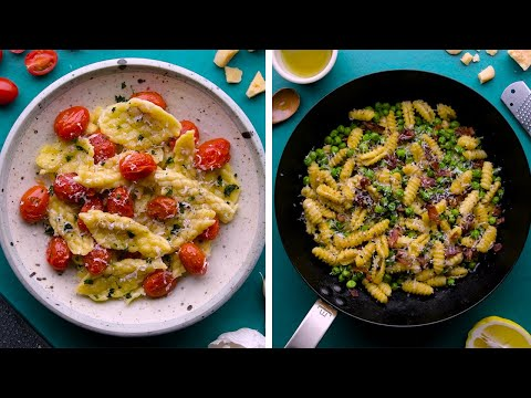 10 DIY Pasta Shapes to Make You Feel Like You're in Italy! #StayHome with So Yummy