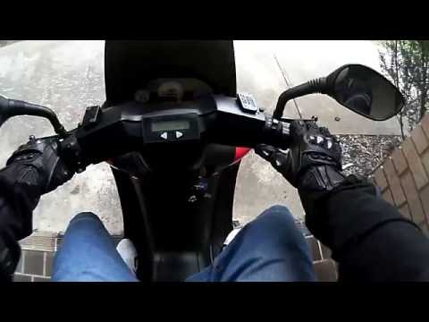 EMPED ePED 8000w Scooter Speed Test