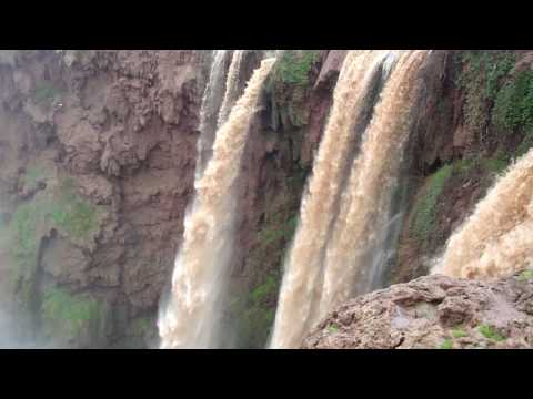 The Ouzoud Waterfall In Morocco
