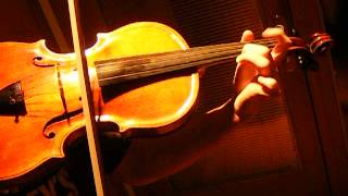 VIOLIST Plays PAGANINI CAPRICE No. 16 for Violin on Viola, SOLO