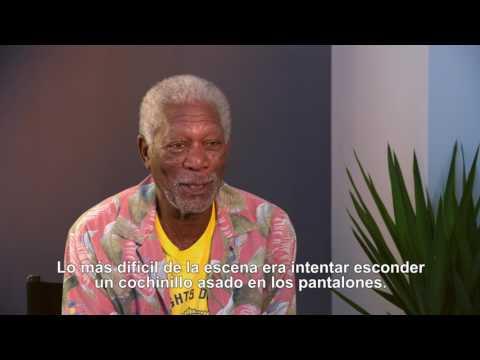 Un Golpe con Estilo - Entrevista a Morgan Freeman HD