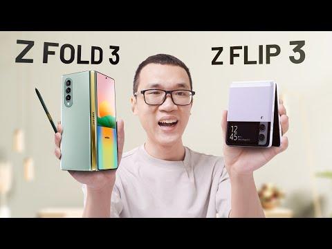 Samsung Galaxy Z Fold 3 và Galaxy Z Flip 3 đây rồi: kháng nước, camera ẩn