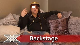 The X Factor Backstage with TalkTalk | Saara, Sam and Honey G talk Disco Week!