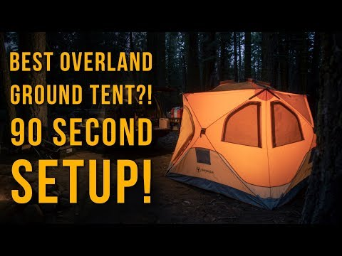 The Best Overland Ground Tent?! Detailed Review