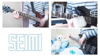 【SEiMI】This Is Gonna Hurt - Sixx A.M. Guitar Cover!! +Bass