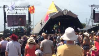 The Waterboys -  The whole of the moon - Glastonbury 2015