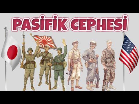 PASİFİK CEPHESİ I TEK PART BELGESEL TÜRKÇE 2. dünya savaşı tarihi