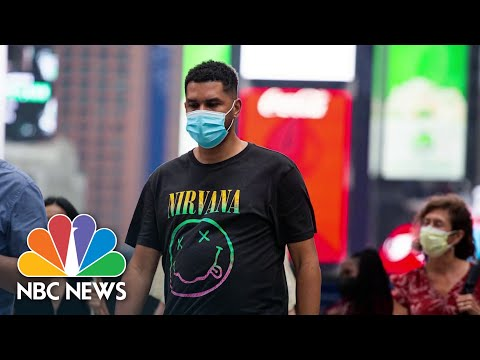 NYC Mayor De Blasio: We Strongly Recommend People Wear Masks Indoors