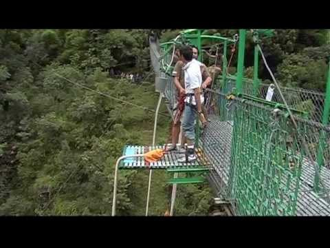 First Bungy Jump @ Tatopani, Nepal 2009