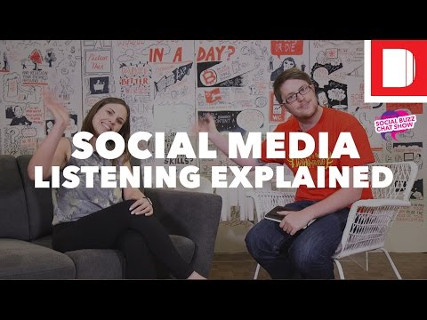 How To: Social Media Listening - #SMBuzzChat with Hannah Rainford