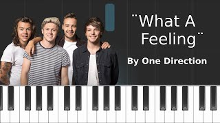 One Direction - ''What A Feeling'' Piano Tutorial - Chords - How To Play - Cover
