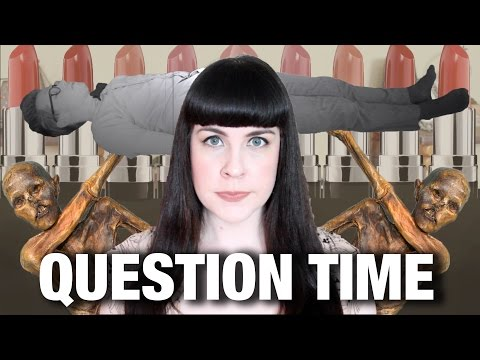 ASK A MORTICIAN- Dressing a Corpse, Oldest Mummy, & More!