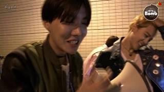 [BANGTAN BOMB] BTS (방탄소년단) j-hope's singing 'RUN' over a loudspeaker