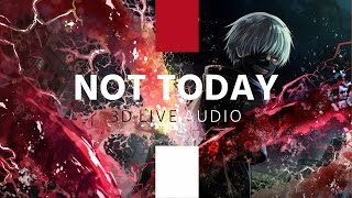 BTS  - Not Today (3D Live) /Use Headphones/