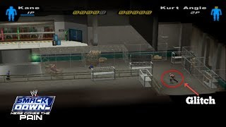 Backstage Non-Playable Area Glitch   WWE SD! HCTP 2003  